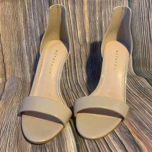 Metaphor Women's Talula Dress Sandal - Tan NEW 6.5